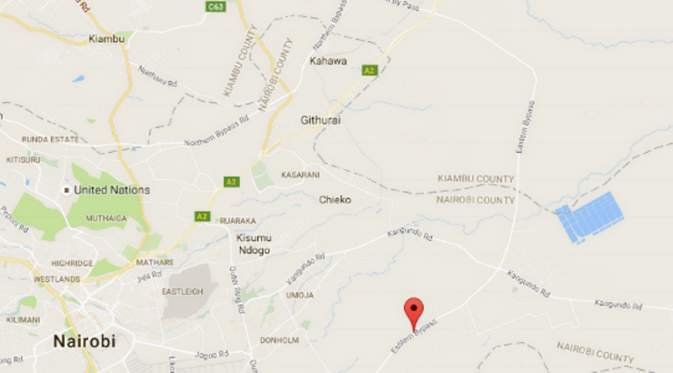 The Eastern Bypass Nairobi Detailed Map And Route - Where is nairobi