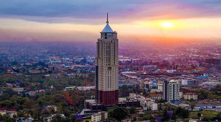 UAP Old Mutual Tower in Upper Hill, Nairobi.