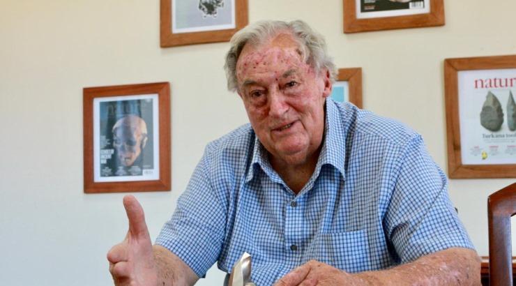 Celebrated paleoanthropologist Richard Leakey