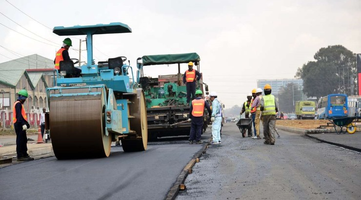 japanese ngong road builder wins praise for a job well done